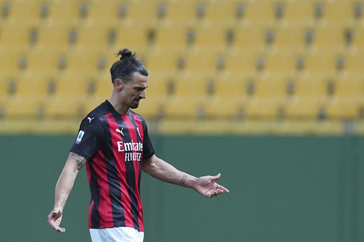 Ibrahimovic stängs av i en match