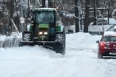 Missnöjd över snöröjning i Slagsta