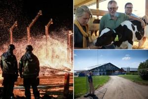 Efter branden - de hjälper till med återuppbyggnaden