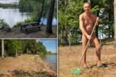 """Här nakenbadar de i Sörmland: """"Inget erotiskt snabbköp"""""""