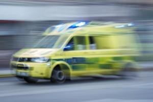 Person påkörd av lastbil – skadades allvarligt