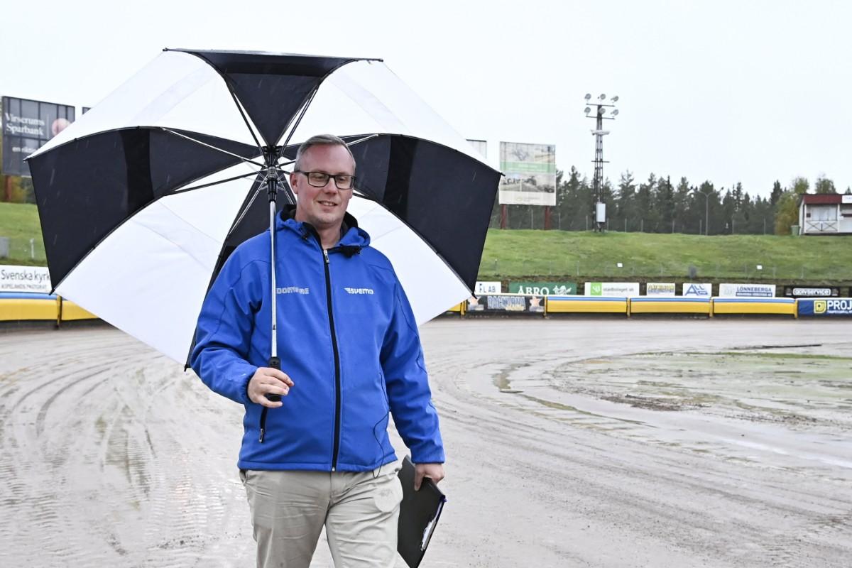 Regn försenar speedwayfinal