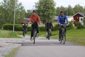 """Cykelfrämjandet undersöker cykelbanor i Piteå: """"Målet är att kunna bidra till förbättringar som gör det enklare och säkrare att cykla"""""""