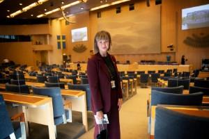 """Amloh (S): """"Katastrof för jobben i Oxelösund om kraftledningen inte alls blir av"""""""