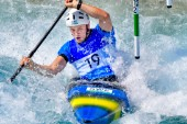 Erik Holmers första OS-kvalheat hackade