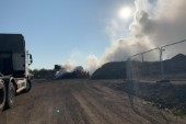 """Efter branden: """"Skellefteborna kan räkna med röklukt hela dagen"""""""