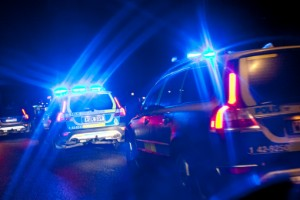 Försökte köra ifrån polisen - misstänks för rattfylla