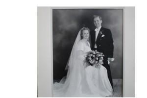 De firar sin 65-åriga bröllopsdag