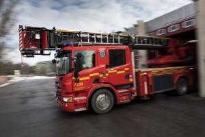 Larm om skogsbrand var föranmäld eldning