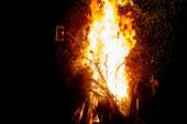 Kontrollerad eldning ledde till utryckning