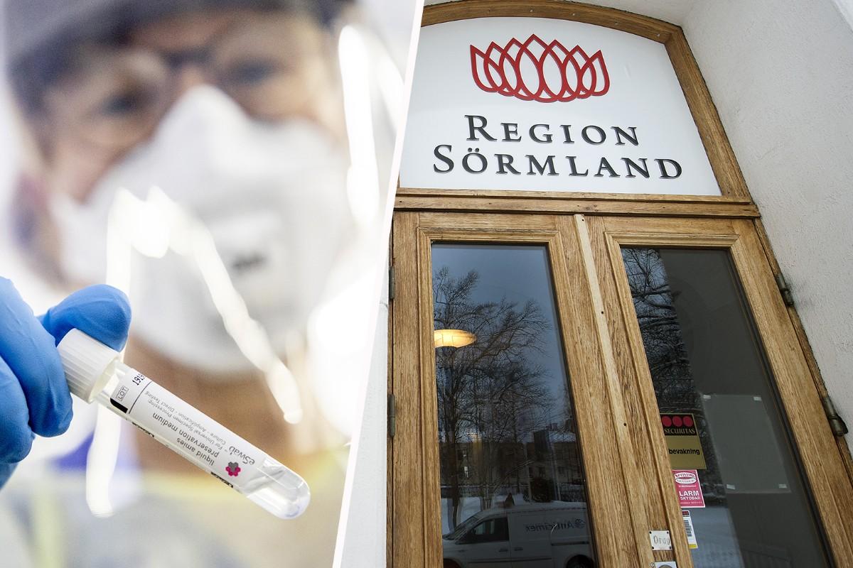 Region Sörmland erbjuder egen provtagning för covid-19
