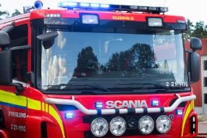 Polisen misstänker att bilbranden var anlagd